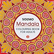 Amazon Brand - Solimo Mandala Colouring Book for Adults 3