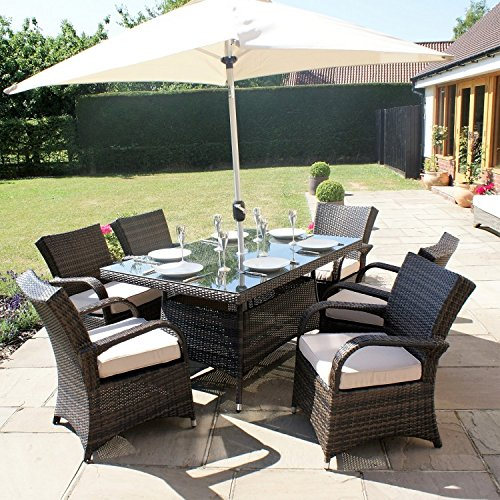 San diego rattan garden furniture houston 6 seater for I furniture houston
