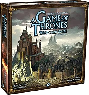 A Game of Thrones The Board Game, 2ème Édition (Version ANGLAISE) (1589947207) | Amazon price tracker / tracking, Amazon price history charts, Amazon price watches, Amazon price drop alerts