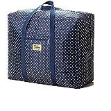 Storage Bag, Mml® grande vintage floreale biancheria shopping Storage borsa riutilizzabile borse con cerniera F