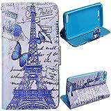 Voguecase® für Wiko Jerry, Kunstleder Tasche PU