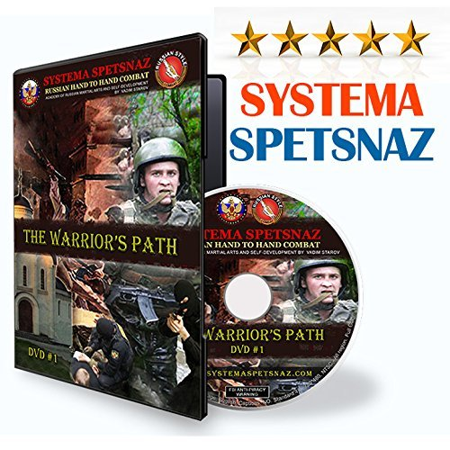 Preisvergleich Produktbild Russian Martial Arts DVD by Systema Spetsnaz - The Warrior's path - Hand to Hand Combat DVD - Self-Defense Training Video