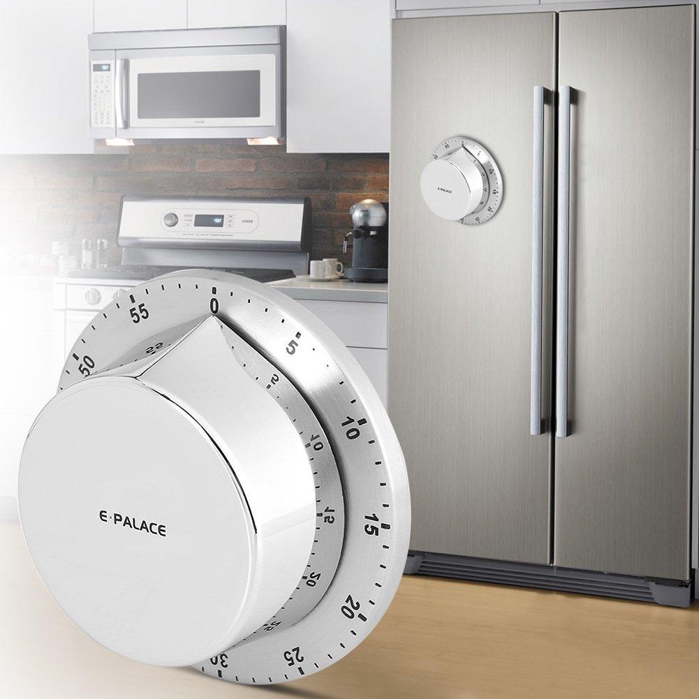 Qtiwe Timer da cucina, tempo coltello piano Orologio Timer Timer Count Down  Timer Sveglia con magnetico rueckseit per cucina di casa cottura forno