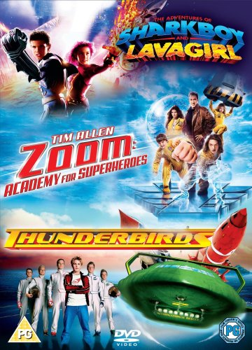 Zoom/Thunderbirds/the Adventures of Shark Boy and Lava Girl [UK Import]