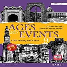Ages and Events: History & Civics Book by Pearson for ICSE Class 9