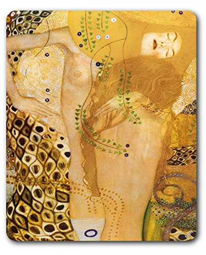 1art1 89370 Gustav Klimt - Wasserschlangen, 1904-07 Mauspad 23 x 19 cm