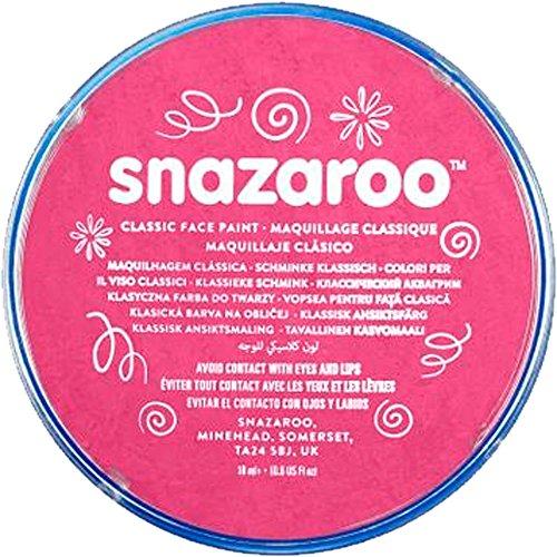 Snazaroo Face & Body Make Up auf Wasserbasis für Fancy Dress-Fuchsia Pink 18ml - Make-up-snazaroo