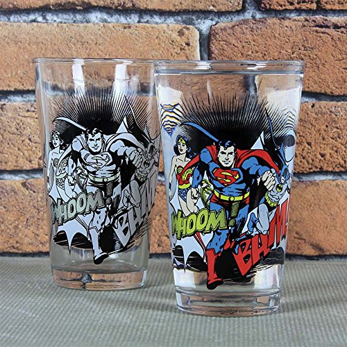 DC Comics Farbwechsel Glas