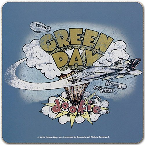 Green Day Dookie Individual Coaster