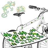 style4Bike Gecko Gekko Eidechse Geckos Fahrrad Aufkleber Sticker
