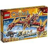 LEGO Legends Of Chima-playthèmes - 70146 - Jeu De Construction - Le Temple Du Phœnix De Feu