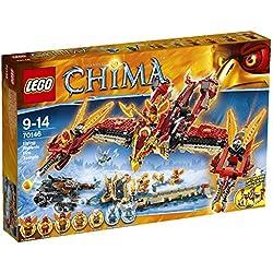 LEGO - El templo del fuego del Fénix Volador con 1301 piezas (70146)