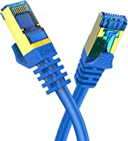 CAT8 Ethernet Cable Veetop 40Gbps 2000Mhz High Speed Gigabit SFTP LAN Network Internet Cables with RJ45 Gold Plated Connector
