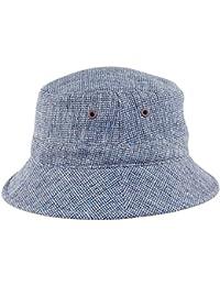 Chapeau Bob Oxford Spey bleu KANGOL