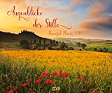 Augenblicke der Stille 2019: Wandkalender groß. Fotokunst-Kalender mit romantischen Aufnahmen von Landschaften. Großformat: 55 x 45,5 cm. Foliendeckblatt.