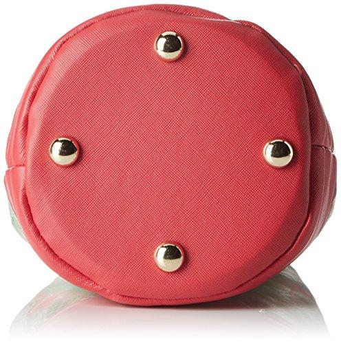 L'AETELIER CAESARSBobby - Borsa a Tracolla Donna Multicolore (Multicolore/Rose)