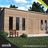 Noah Jardin salles 14x 10'Statesman Mancave' Heavy Duty Abri de jardin en bois/atelier/Summerhouse