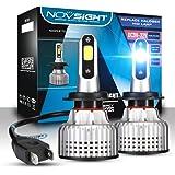 Car Scheinwerfer Glühbirnen Conversion Kit, Super Bright 10000LM, Lampen Scheinwerfer Headlamp Motorcycle Front Light Bulbs Off-Road Car Zubehör 6500K High Beam IP68-Pack von 2,H7