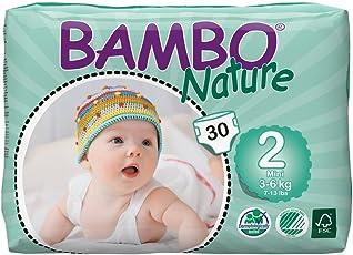 Bambo Nature Mini 3-6 kg, 30 Count, Size 2