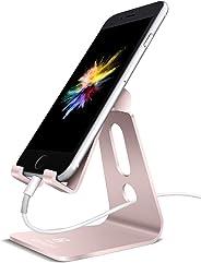 Lamicall Support Téléphone, Multi Position Dock Téléphone - Support Dock pour Phone XS XS Max XR X 8 7 6 6S Plus 5 4, Huawei,