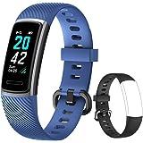 Yishark Pulsera Actividad Reloj Inteligente Mujer Fitness Tracker Niños Hombres Podómetro Reloj Deportivo Monitor de Sueño Pu
