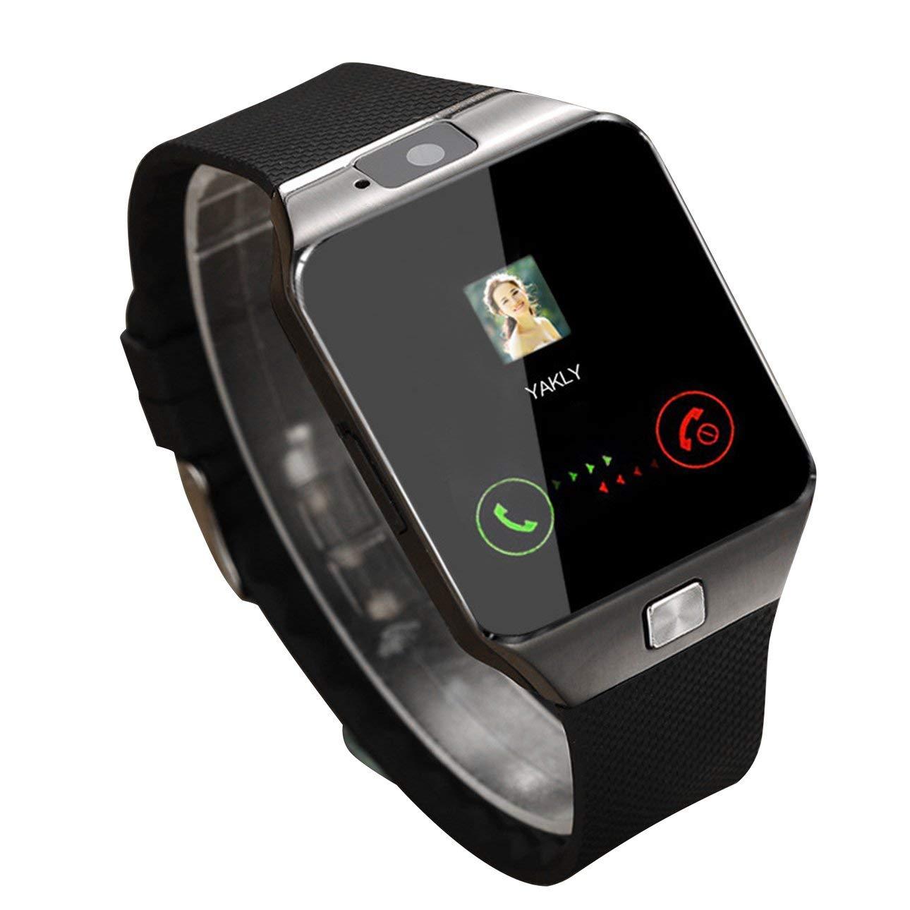 Ballylelly Smart Watch Dz09 Gold Silver Smartwatch Relojes para iOS para Android Sim Card Camera Camera Watch 1