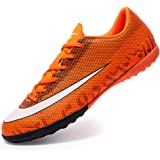 REBEST Football Boots Men Football Shoes Cleats Turf Trainers Junior Rugby Outdoor Sneakers Wear-Resistence Soccer Shoes Non-