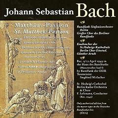 St. Matthew Passion, BWV 244: Part II: Recitative: Des Morgens aber (Evangelist, Judas) - Recitative: Was gehet uns das an? (Chorus) - Recitative: Und er warf die Silberlinger (Evanglist, Pontifex)