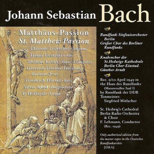 St. Matthew Passion, BWV 244: Part II: Chorale: Befiehl du deine Wege (Chorus)