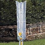 Abdeckhaube für die Wäschespinne, Schutzhülle Schutzhaube Abdeckplane Abdeckung, wetterfester Kunststoff 40x168 cm
