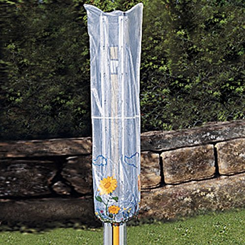 Abdeckhaube für die Wäschespinne, Schutzhülle Schutzhaube Abdeckplane Abdeckung, wetterfester Kunststoff 40x168 cm (Abdeckung Wetterfester)