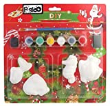PIGLOO DIY Plaster Paint Magnet Kit for ...