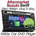 Aftermarket-Auto-DVD-Player für Suzuki Swift 2004-2010, für MP3, MP4MKV AVI Dash Fascia RMVB USB SD CD-Radio Stereo-Set