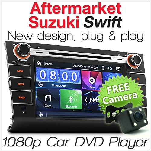 Aftermarket-Auto-DVD-Player für Suzuki Swift 2004-2010, für MP3, MP4 MKV AVI Dash Fascia RMVB USB SD CD-Radio Stereo-Set Aftermarket Radio