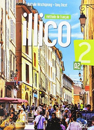 Illico 2 livre de l'eleve + dvd - rom + parcours digital