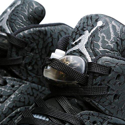 Air Nero Jordan Uomo Scarpe Nero Sportive 3lab5 Argento Metallico Nike BwOCqB