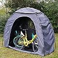 Wasserdichte Hochleistungslagerzelt Fahrradzelt Fahrradzelt Platzsparende Garten Rasen Patio Hinterh von OUTOUR bei Du und dein Garten