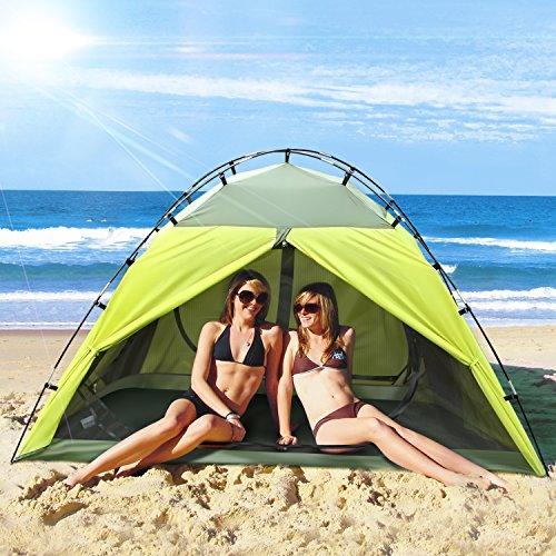 INTEY Kuppelzelt Campingzelt für 2 Personen inkl. Innenzelt