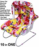 #9: Multipurpose Carry Cot ( All in 1)- CAR SEAT bouncer SWING bath tub ROCKER feeding chair MOSQUITO & SUN PROTECTION - Unisex
