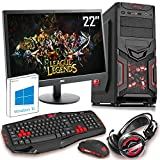 The PC Customiser Ultra Fast Gaming PC Bundle - AMD A8 7650K Quad Core @ 4.00GHz, Radeon R7, 16GB DDR3 1600MHz RAM, 1TB Hard Drive, MSI A68HM Grenade, CiT Red Devil Case, WiFi, 22