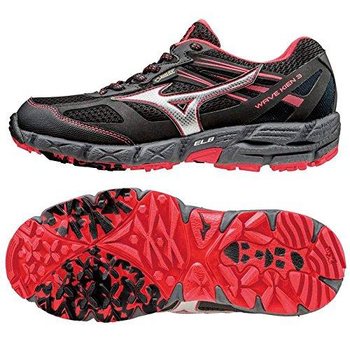 Mizuno Damen Wave Kien 3 G-Tx Laufschuhe schwarz / pink