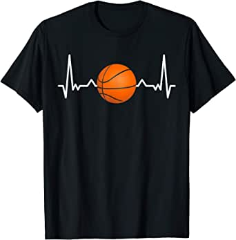 Il mio cuore batte per il basket Maglietta