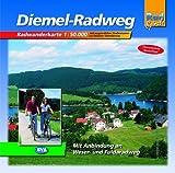 Diemel-Radweg: Radwanderführer. Massstab 1:50000