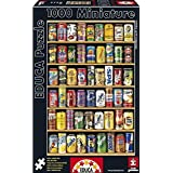 Educa 14835 - Cans - 1000 pieces - Miniature Series Puzzle by Educa