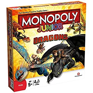 Dragons Monopoly Junior Board Game