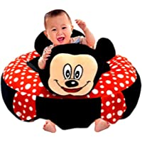 Besties Baby Soft Plush Cushion Cotton Baby Sofa Seat Infant Safety Car Chair Learn to Sit Stool Training Kids Support…