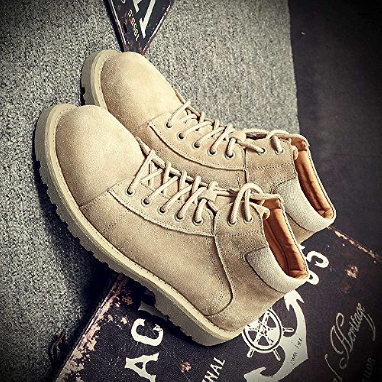 HL-PYL-Martin botas zapatos altos All-Match Suede.,38,color arena