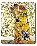 Gustav Klimt - L'Abbraccio (Dettaglio) Tappetino per Mouse (23 x 19cm)