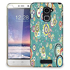 Snoogg Colorful Leaves Designer Protective Phone Back Case Cover For Coolpad Note 3 Lite