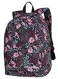 Prime Schulrucksack Rucksack 25 L CROSS Bag Backpack Merhfarbinge Blumen Korallenblüte Coral Blossom [006]